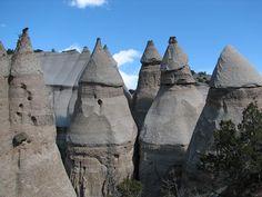 Tents Rocks National Monument near Santa Fe, New Mexico.  Beautiful place to go hiking.