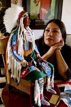 Rhonda Holy Bear..Lakota doll artist