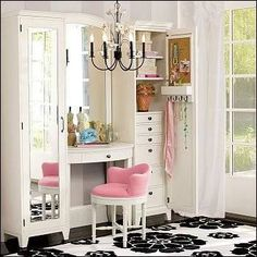 "Check out ""Dream Closet Makeup Storage Idea"" Decalz @Lockerz"