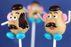 Mr. Potato Head Cake Pops  OMG COOLEST THING EVER! #speechless