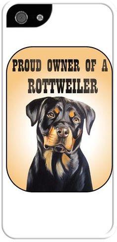 Köpekli - Proud Owner of a Rottweiler Kendin Tasarla - İphone 55S Kılıfları