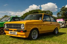 """"""" Escort RS Mexico by kevaruka """" Ford Rs, Classic Car Restoration, British Sports Cars, Ford Classic Cars, Ford Escort, Pedal Cars, Amazing Cars, Modern Classic, Cover Photos"""