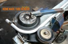 HOME MADE TUBE BENDER — by hairyalien. Here is a quick view of handy tool, one of the better tube benders,