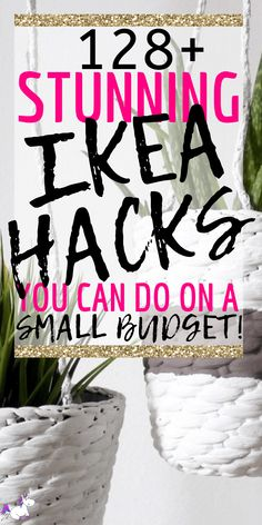 128 Stunning Ikea Hacks For Every Room In Your Home For People Who Love DIY Home Decor On A Budget! Diy IKEA Hacks that will save you tons of money. These budget DIY projects from IKEA will give you all the home decor inspiration you need! Diy Hacks, Hacks Ikea, Diy Home Decor On A Budget, Diy Home Decor Projects, Home Decor Hacks, Mason Jar Crafts, Mason Jar Diy, Diy Hanging Shelves, Best Ikea