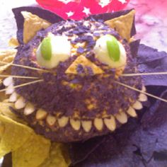 Purrrrrfect cheese ball for my mad hatter party (thanx marthastewart.com), was a big hit.