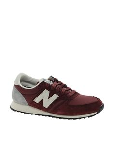 Love the colour of these New Balance. Burgundy the 2nd best colour to black. http://asos.to/1vAYgdD