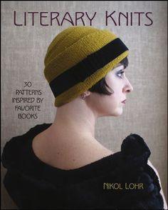 Literary Knits: 30 Patterns Inspired by Favorite Books by Nikol Lohr, http://www.amazon.com/dp/B00DNL3HGM/ref=cm_sw_r_pi_dp_xvubsb16H76YG