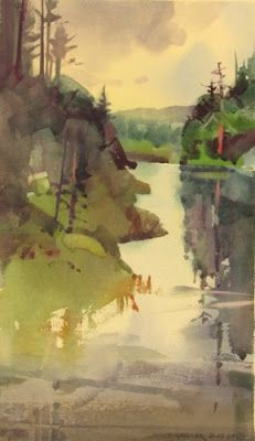 Watercolor Paintings by artist Stephen Quiller