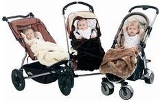 Minimink faux fur papoose/stroller blanket
