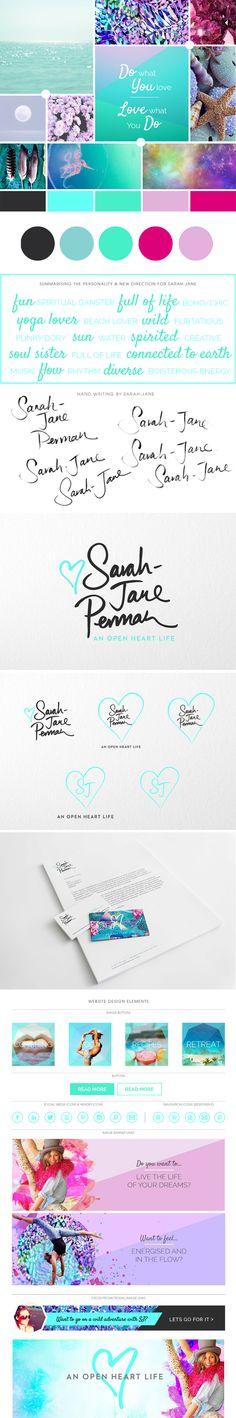 Personal Branding for Sarah-Jane Perman a Holistic Health Coach.