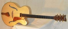 Chennell String Instruments, The 'Flame', Acoustic archtop jazz guitar