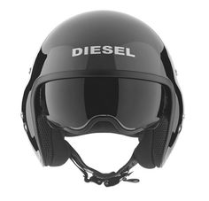 02ae2a7cc43 Diesel and Italian helmet manufacturer AGV have joined forces for the  awesome Hi-Jack Helmet. The helicopter pilot style helmet features the  unmistakable ...