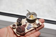 Chennai-Based Artist Makes Delicious Miniatures of Food and You Might Just Eat Them