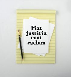 card that reads front fiat justitia ruat caelum inside blank. Cars Review. Best American Auto & Cars Review