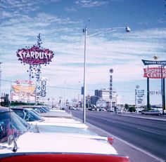 Las Vegas Strip, December Valley of the Doll(s) playing at the drive-in theater behind Stardust. Photo by one of Ted Mills' parents. Old Vegas, Vegas 2, Las Vegas Strip, Las Vegas Nevada, Las Vegas Hotels, I Love La, Drive In Theater, Valley Of The Dolls, Sin City
