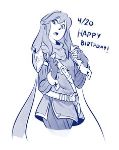 """Today is Lucinas Birthday!  So i drew her in what i think its her being like  """"y´know its not like i dont appreciate it, I DO!, but you know… after seeing the same kinda joke around 6-ish times a day yknow, you just… start to think the joke is not..."""