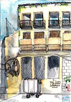 Viviendas sin vida, Malaga, by Patrizia Torres via Flickr