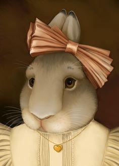 Kim Parkhurst   -   Victorian Bunny Girl