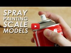 Tips on how to get better results when using spray cans to paint scale model kits, and also some safety advice. Special thanks to David from 'Simple Models' . Model Cars Building, Modeling Techniques, Modeling Tips, Model Train Layouts, Spray Painting, Painting Tips, Model Trains, Ho Trains, Plastic Models