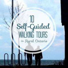 {Try} 10 Self-Guided Walking Tours in Rural Ontario Best Places To Live, Places To See, Weekend Trips, Weekend Getaways, Ontario Travel, Lake Pictures, Weekend Activities, Canada Travel, Day Tours