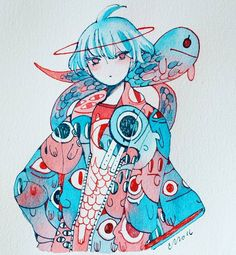WIM Enjoyed and Liked on instagram from maruti_bitamin: Obake jacket by maruti_bitamin
