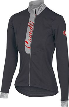 Castelli Sorriso Jersey FZ  Womens Anthracite Size M ** See this great product. (Note:Amazon affiliate link) #CyclingJersey