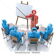Business Training. Seminar concept  - stock photo