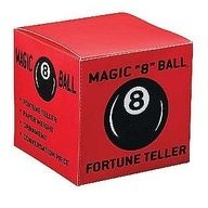 """MAGIC """"8""""BALL FORTUNE TELLER   I love the 80's and 90's"""