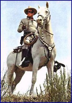 Silver and The Lone Ranger-Silver was a 12 yr. old, 17+ hds. Morab/Tennessee Walker X stallion that was hand picked by Clayton Moore.
