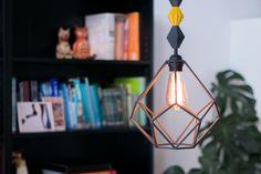 DIY: Lampara geométrica ¡otro avance en mi comedor!