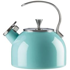 Kate Spade Tea Kettle (65 CAD) ❤ liked on Polyvore featuring home, kitchen & dining and kate spade