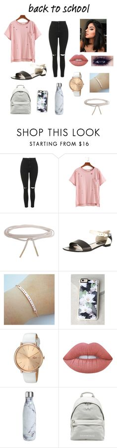"""""""Untitled #209"""" by maddi-burton-1383 ❤ liked on Polyvore featuring Topshop, Humble Chic, Chanel, Zero Gravity, Lacoste, Lime Crime and S'well"""
