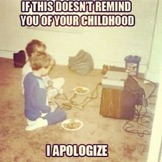 80's kid. Late night sleepovers. lol this was def me and my bro