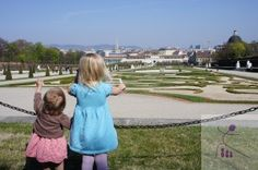 Traveling to Vienna, Austria with kids--Belvedere Palace