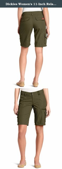 350b6055ee Dickies Women's 11-Inch Relaxed Cargo Short. Dickies misses 11 inch relaxed  fit cotton