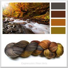 Autumn River - Expression Fiber Arts   WOW!!!