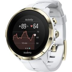 If you want a watch that literally does it all the Suunto Spartan Sport Wrist HR Multisport Watch in Gold is what you need. High functionality and style.
