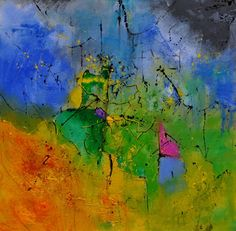 abstract 8841701, painting by artist ledent pol