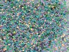 Peacock Solvent Resistant Glitter Mix von YouMix auf Etsy, $2.50