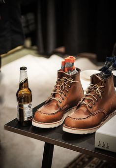 RedWingBoots. I love these boots with some fitted ripped pants.