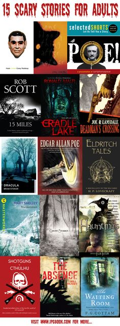 15 spine-tinglingly scary books