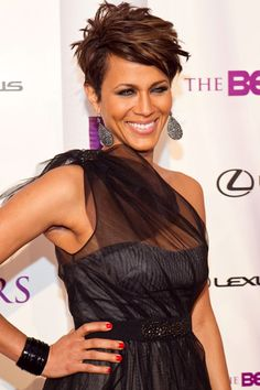Nicole love the hair, hate that you married to Boris Kodjoe my future husband! LOL