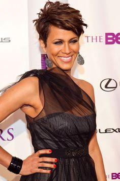 Nicole love the hair, hate that you married to Boris Kodjoe my future husband! LOL