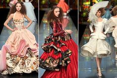 One day, I'll take part in Couture Fashion Week. London, Paris, or New York City.