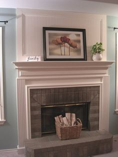 Fireplace Makeovers On Pinterest Fireplace Makeovers
