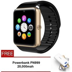 Buy SmartWatch GT08 100% Original New 2.0 Version Wearables Smart Watch - Free Powerbank PN999 20,000mah online at Lazada. Discount prices and promotional sale on all. Free Shipping.
