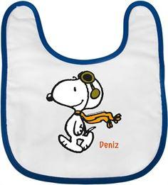 Pilot Snoopy - Bebek Önlüğü