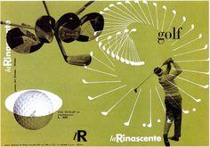 Max Huber - La Rinascente golf, 1951