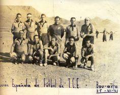 """En el campo de concentración de Bou-Arfa. """"Rastros de Rostros""""."""