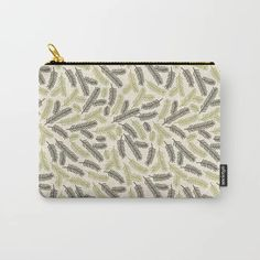 Spruce Carry-All Pouch by murkydesign Perfect gift idea! It can be used for toiletries, art supplies, makeup and smaller electronics. Carry-all pouch is avilable in different sizes. Makeup Humor, Pouch, Wallet, Merry Christmas, Xmas, Art Supplies, Carry On, Pattern Design, Coin Purse